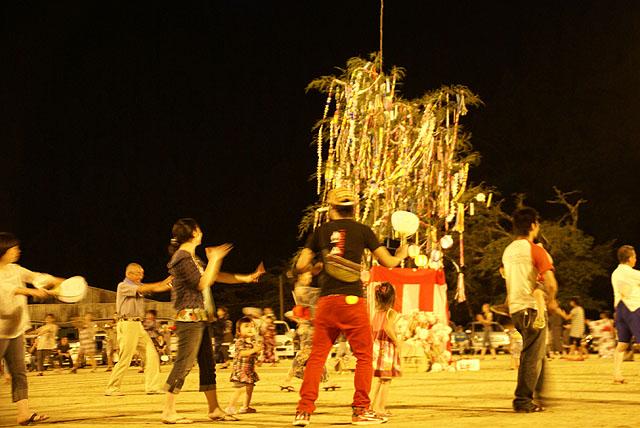 遊子川地区盆踊り大会(1)